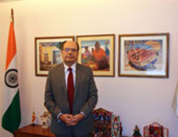 H. E. Mr. Javier Paulinich, Ambassador of Peru in India