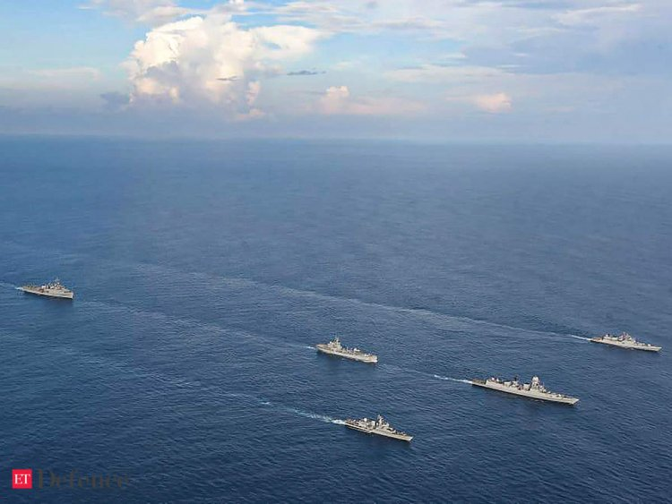 INDIAN OCEAN: CHINESE MOVES AND INDIA'S COUNTER