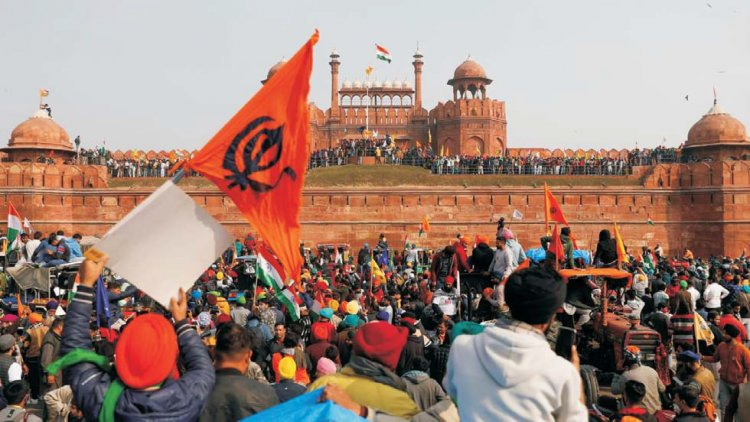 Violence Mars Farmers' Movement